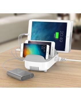 Tablets charging Carts 10 Ports USB Charging Dock Station