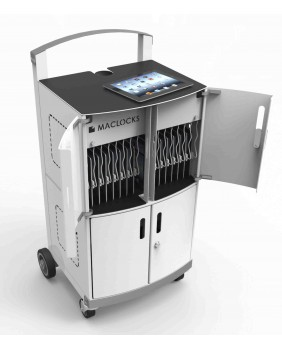 Tablets Sync Cabinets CartiPad Duo - 32 Unit Charging Cart