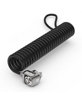 Anti-Diefstal Universal Security Keyed Coiled Cable Lock